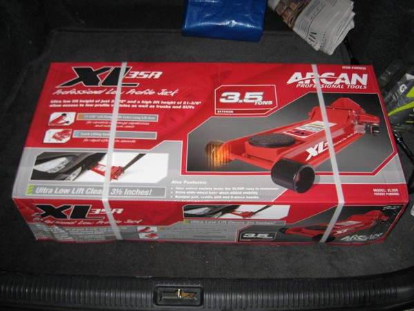 Best Floor Jack Ever Arcan Xl35r From Costco Adam S Auto Advice