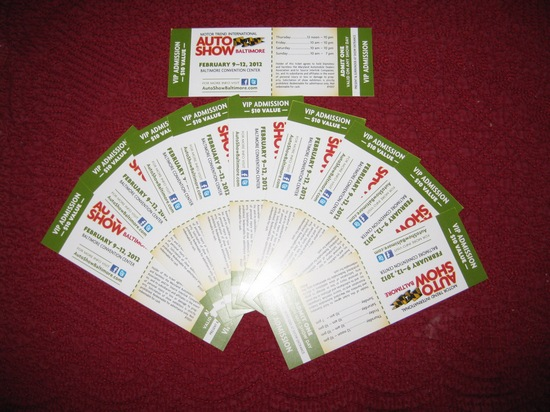 Win Free Tickets To Baltimores Motor Trend International Auto - How much are the tickets for the car show