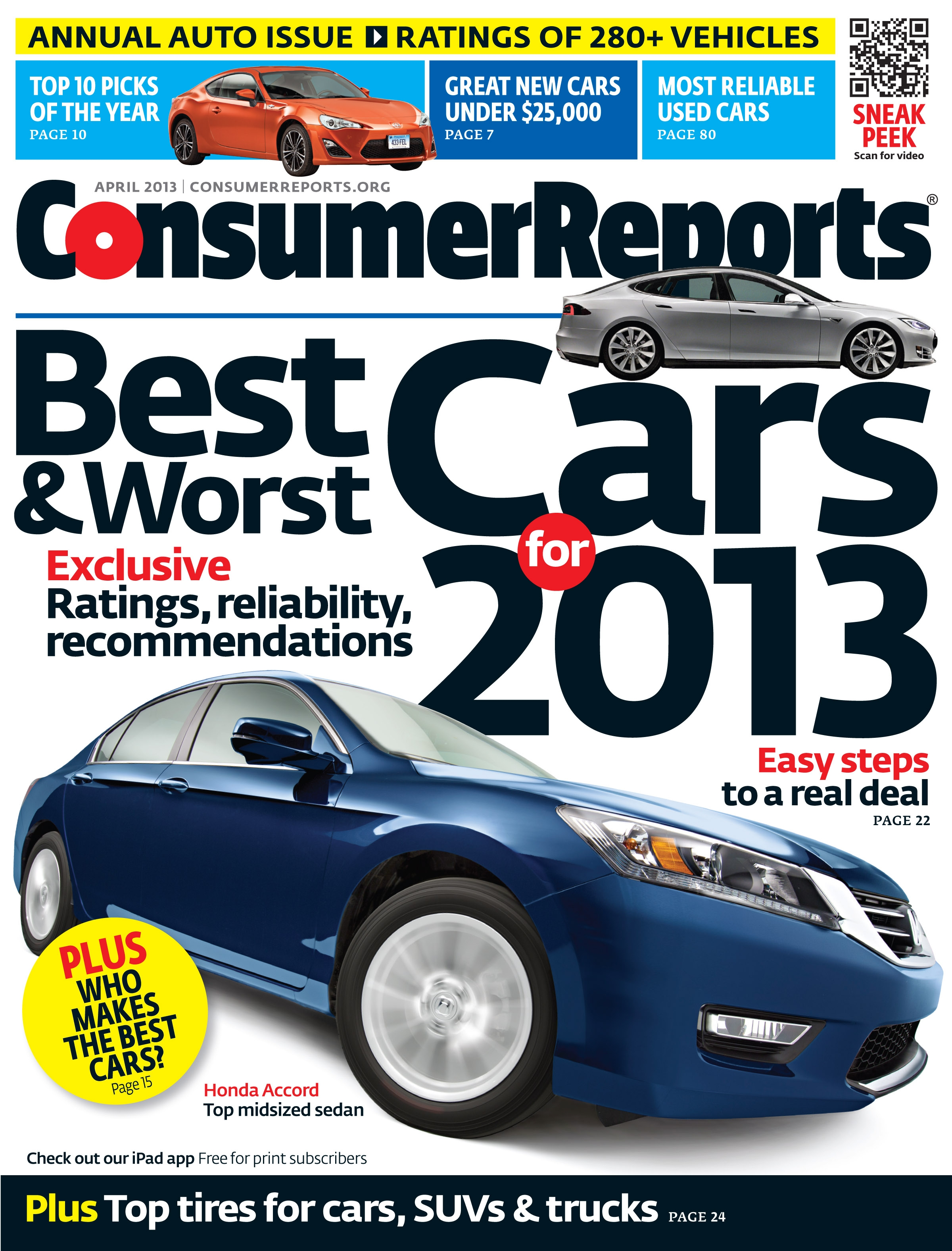 Consumer Reports Auto Issue