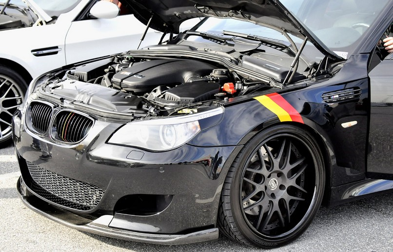 bmw m5 front