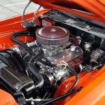 75' Camaro engine bay